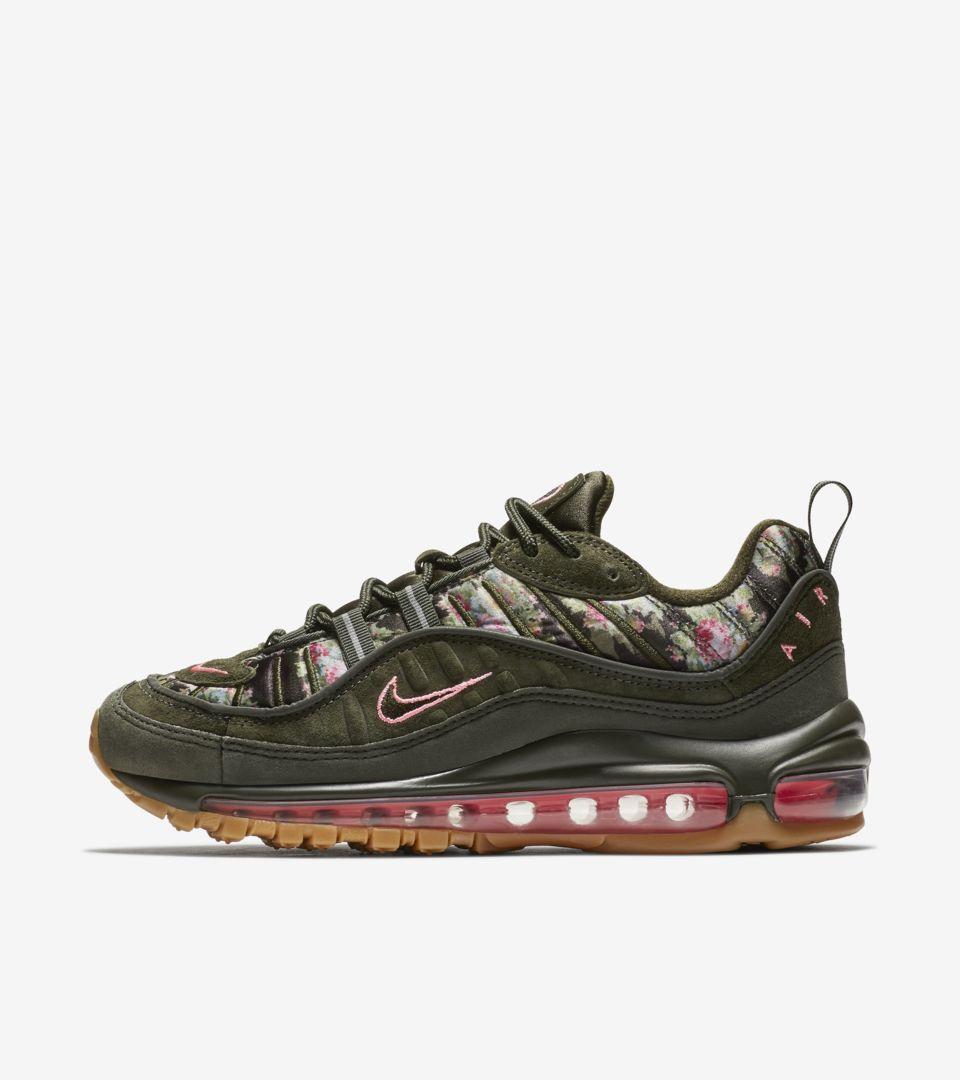 e4999fb092 Women's Nike Air Max 98 'Sequoia & Sunset Pulse' Release Date. Nike ...