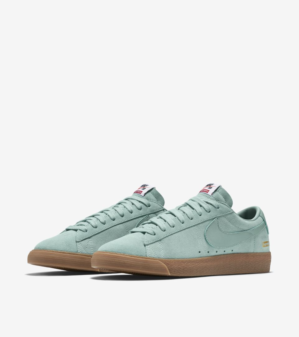 4ad24c6fefd7 Nike Blazer Low GT x Supreme  Cannon  Release Date. Nike+ SNKRS