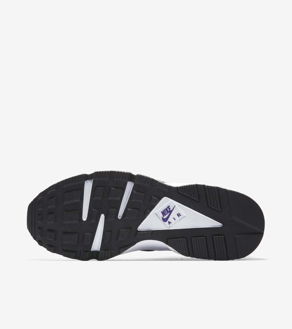 e0c35f7cbddb5 Nike Air Huarache Run  91  White   Purple Punch  Release Date. Nike ...