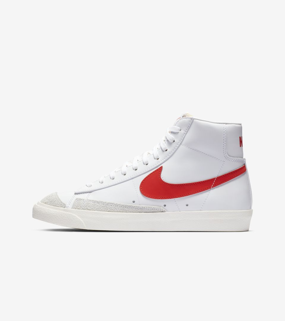 sports shoes 9930e c2f62 Blazer Mid 77. Habanero Red