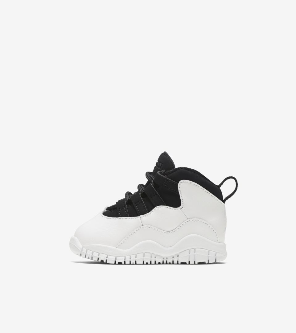 watch e97b2 2d221 Air Jordan 10 Retro 'Summit White & Black' Release Date ...