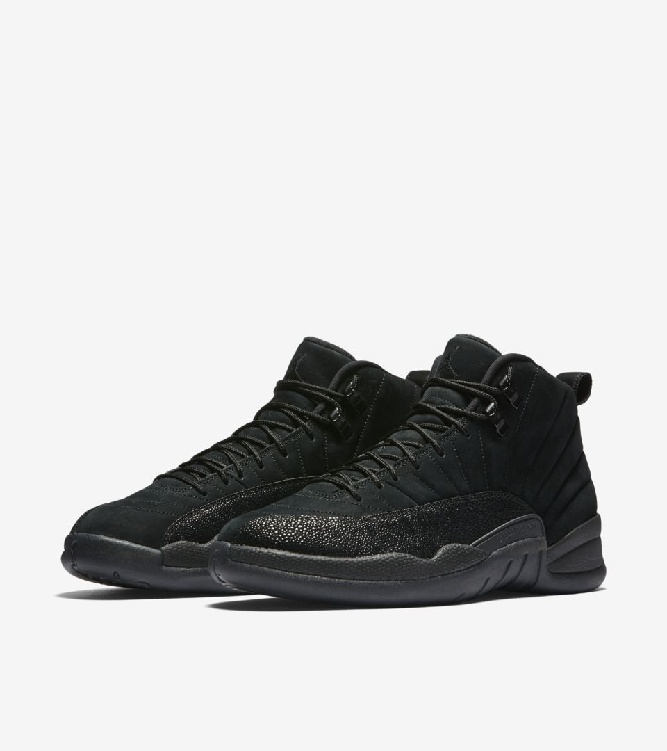 wholesale dealer 9a639 180d2 Air Jordan 12 Retro OVO 'Black & Metallic Gold'. Nike⁠+ SNKRS