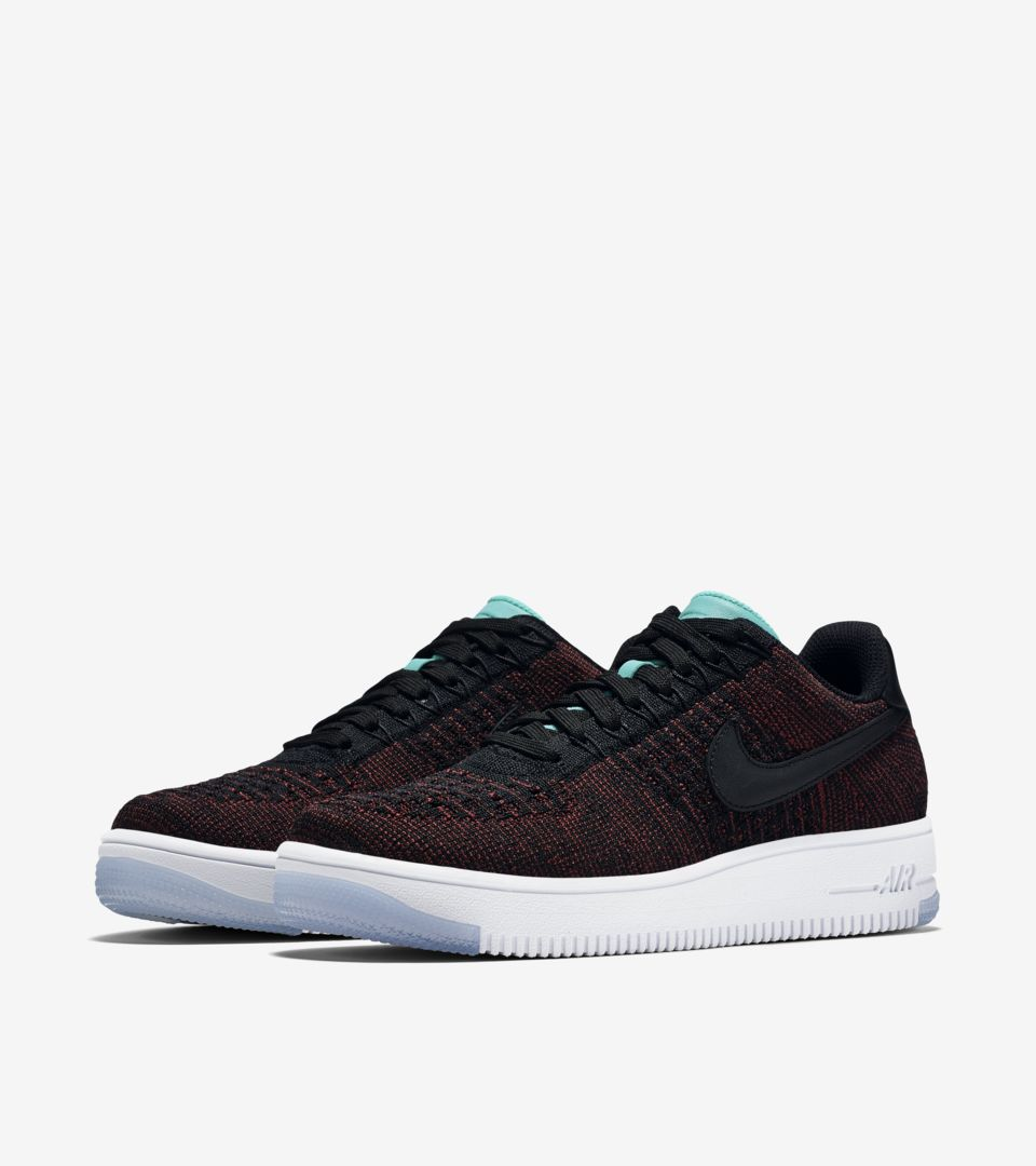 info for 19697 2ba09 Women's Nike Air Force 1 Ultra Flyknit Low 'Team Red & Clear ...