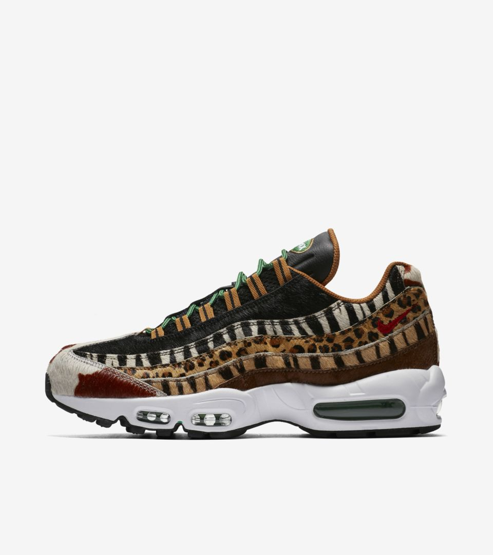buy online 1be0f 5e235 Nike Air Max 95 Atmos  Animal Pack  2018 Release Date. Nike+ SNKRS