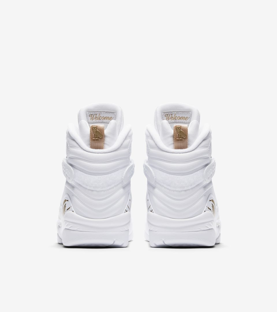 best website 7693f 2b2f3 NIKE公式】エア ジョーダン 8 レトロ OVO 'White & Metallic ...
