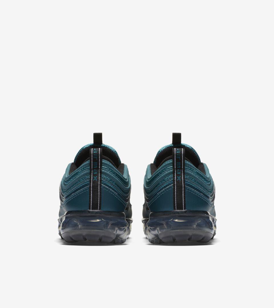 eea3d1e3c5 Nike Women's Air Vapormax 97 'Metallic Dark Sea & Black' Release ...