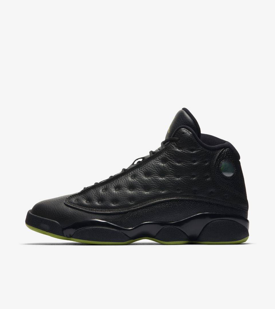 new products 09c6a fd46e Air Jordan 13 'Black & Altitude Green' Release Date. Nike⁠+ ...