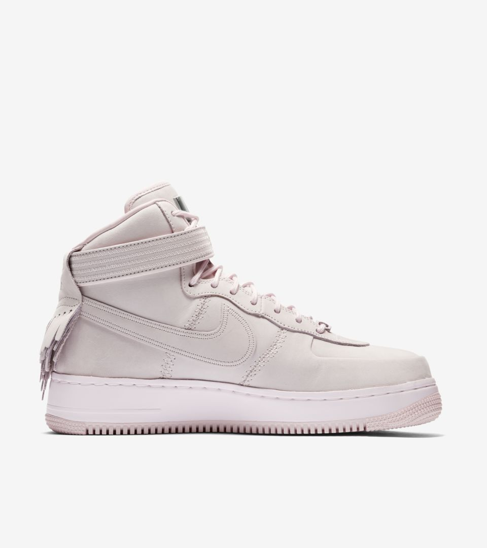 info for 5c1d1 8d370 Nike Air Force 1 High Sport Lux 'Pearl Pink' Release Date ...