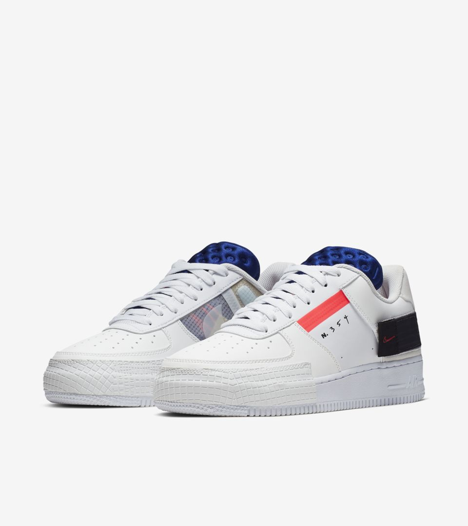 AF1-Type 'Summit White' Release Date. Nike⁠+ SNKRS