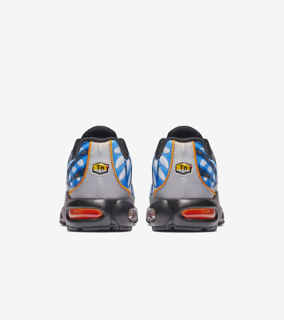 Air Max Plus Premium 'Photo Blue & Orange Peel & Wolf Grey' Release Date