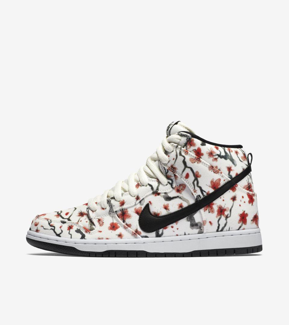 84910e4a5b3b Nike Dunk High Pro SB  Cherry Blossom . Nike+ SNKRS
