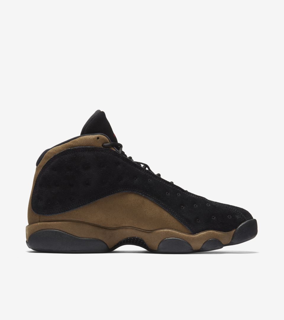 add76c12a1cf Air Jordan 13  Black   Olive  Release Date. Nike+ SNKRS