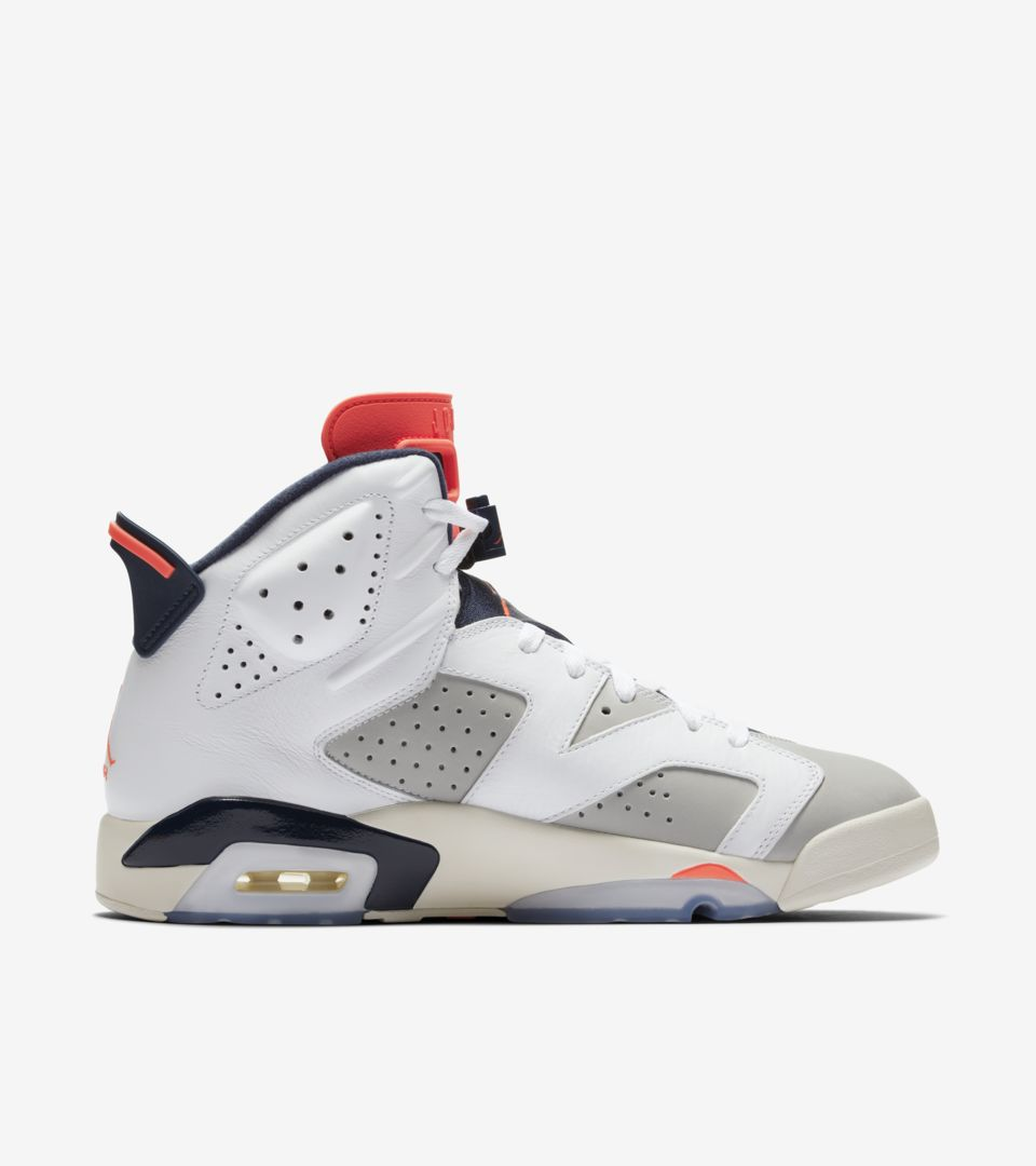 Air Jordan 6 Retro Tinker  Infrared  Release Date. Nike⁠+ SNKRS bac48c31f
