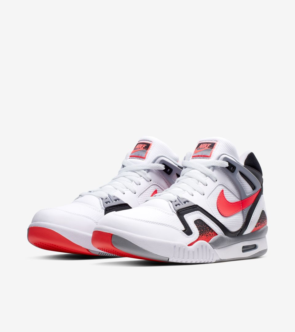 Nike Air Tech Challenge II 'Hot Lava' Release Date. Nike+ SNKRS