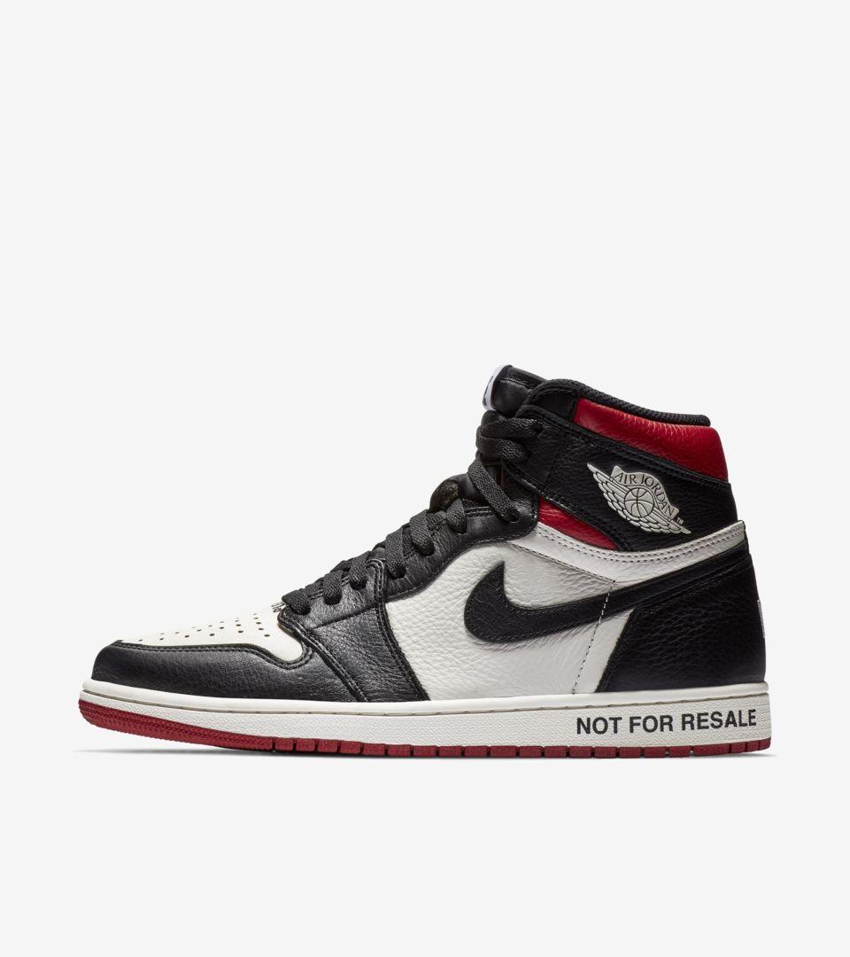 Air Jordan 1 NRG 'Sail & Varsity Red & Black' Release Date