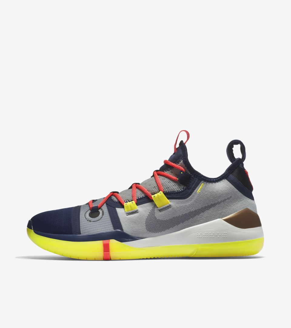 purchase cheap 17037 92b1f Nike Kobe A.D.  Sail   Multi-Color  Release Date. Nike+ SNKRS