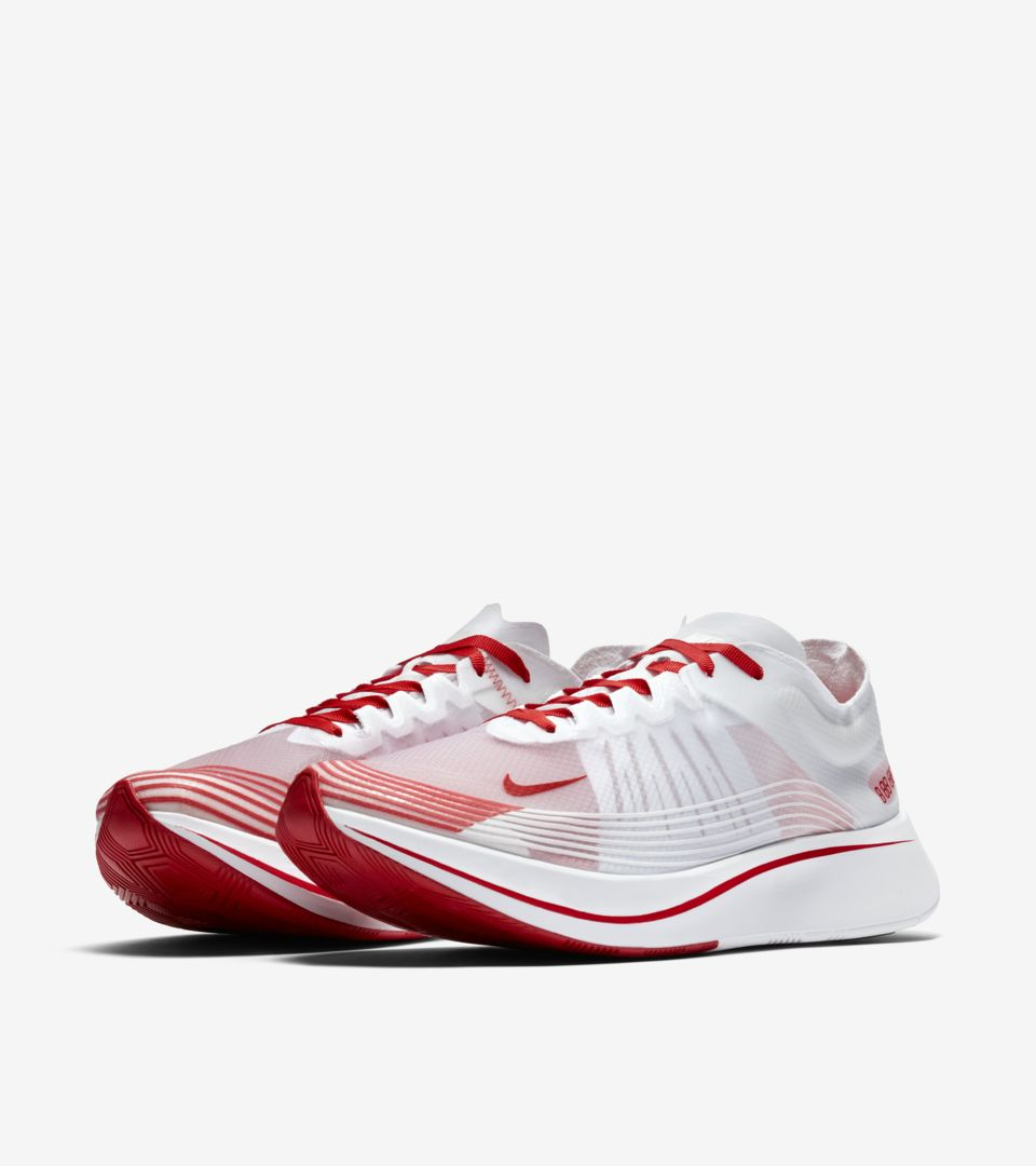 f69b0145e543 Nike Zoom Fly  White   Summit White  Release Date. Nike+ SNKRS