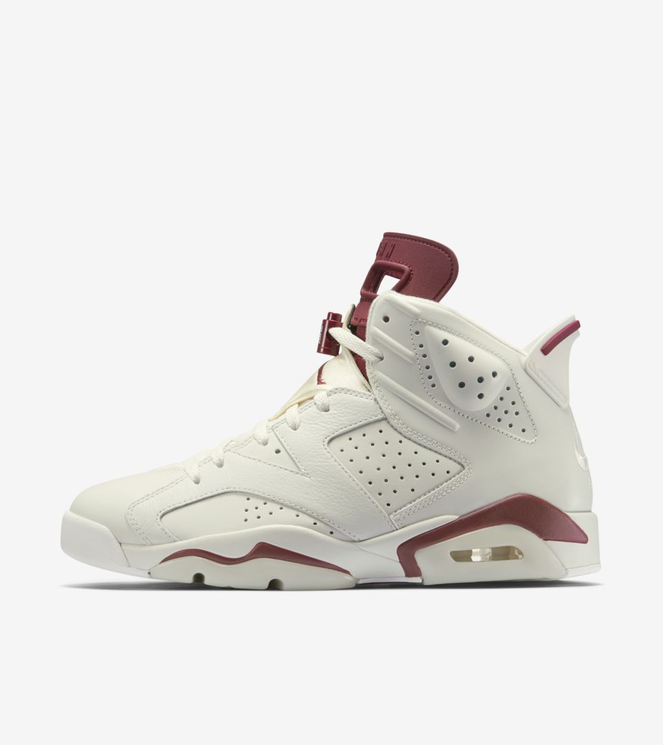 separation shoes b6a43 a7afb Air Jordan 6 Retro 'Maroon' Release Date. Nike+ SNKRS