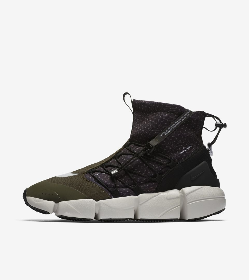 Nike Air Footscape Mid Utility 'Black