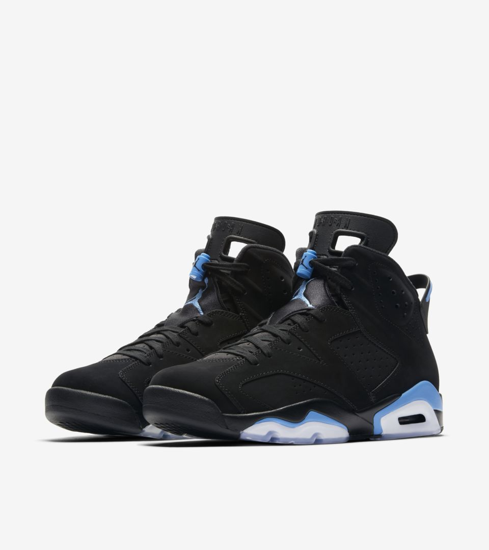 buy popular 8e3e6 aa653 Air Jordan 6 'Black & University Blue' Release Date. Nike⁠+ ...