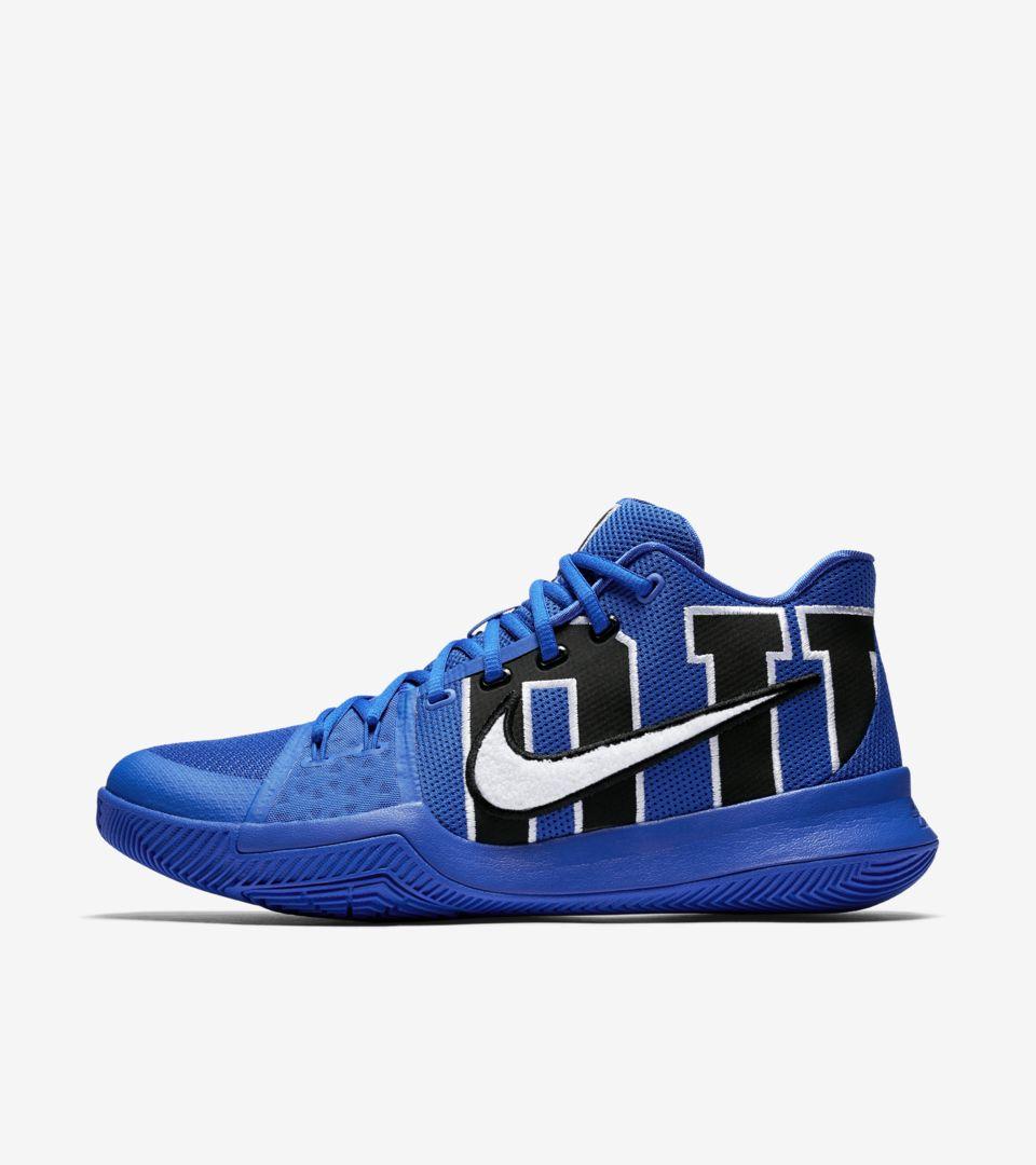 d5f96438c13d Nike Kyrie 3  Duke . Nike+ SNKRS