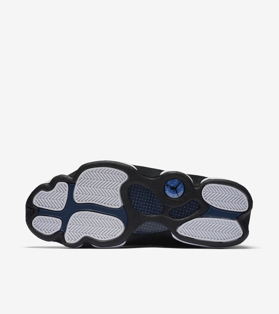 0eaccc1bf8efd6 Air Jordan 13 Retro Low  Black   Brave Blue . Nike⁠+ SNKRS