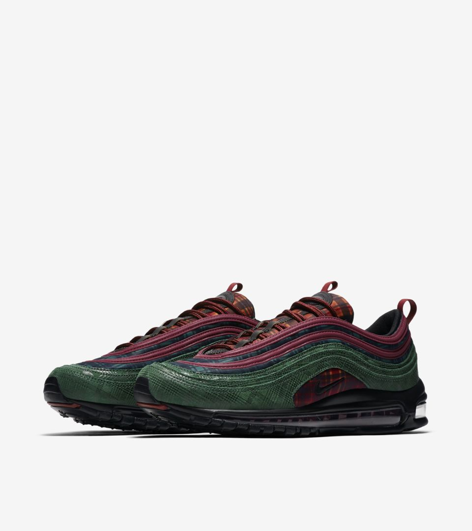 reputable site 58d05 9ff2a Nike Air Max 97 NRG 'Team Red & Midnight Spruce' Release ...
