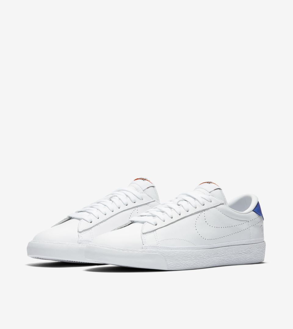 NikeLab x Fragment Zoom Tennis Classic  White   Game Royal . Nike⁠+ ... 828c273d5d98