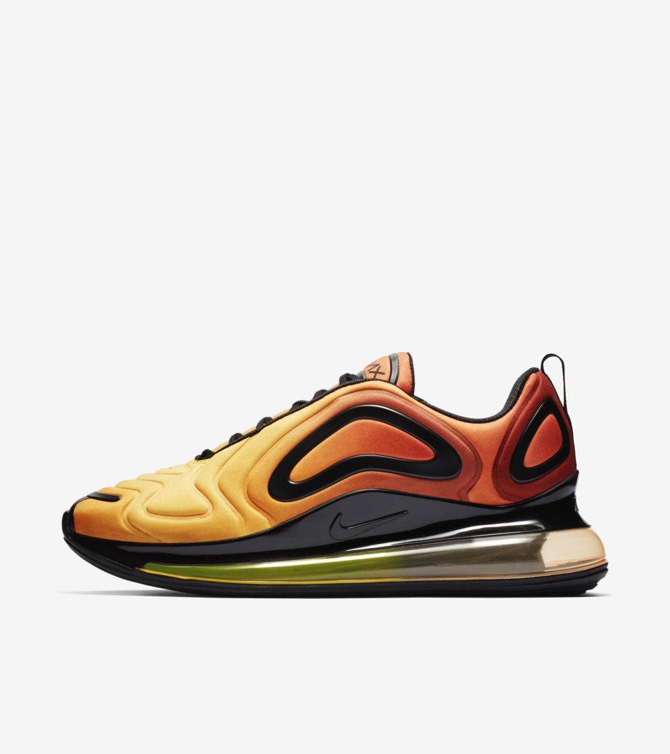 online store a4204 8663e Air Max 720  Team Orange   Black   University Gold  Release Date ...