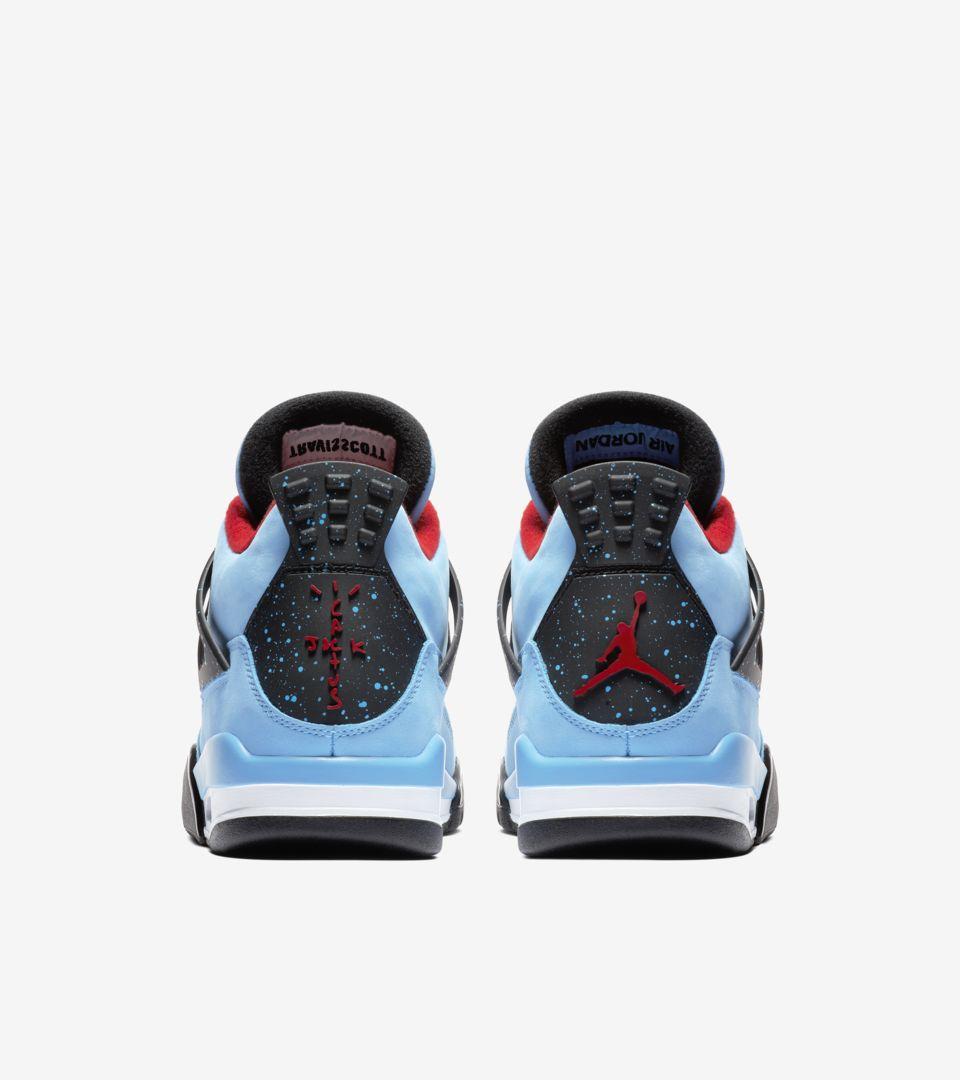 buy popular a7d24 76479 Air Jordan 4 Travis Scott 'Cactus Jack' Release Date. Nike+ ...