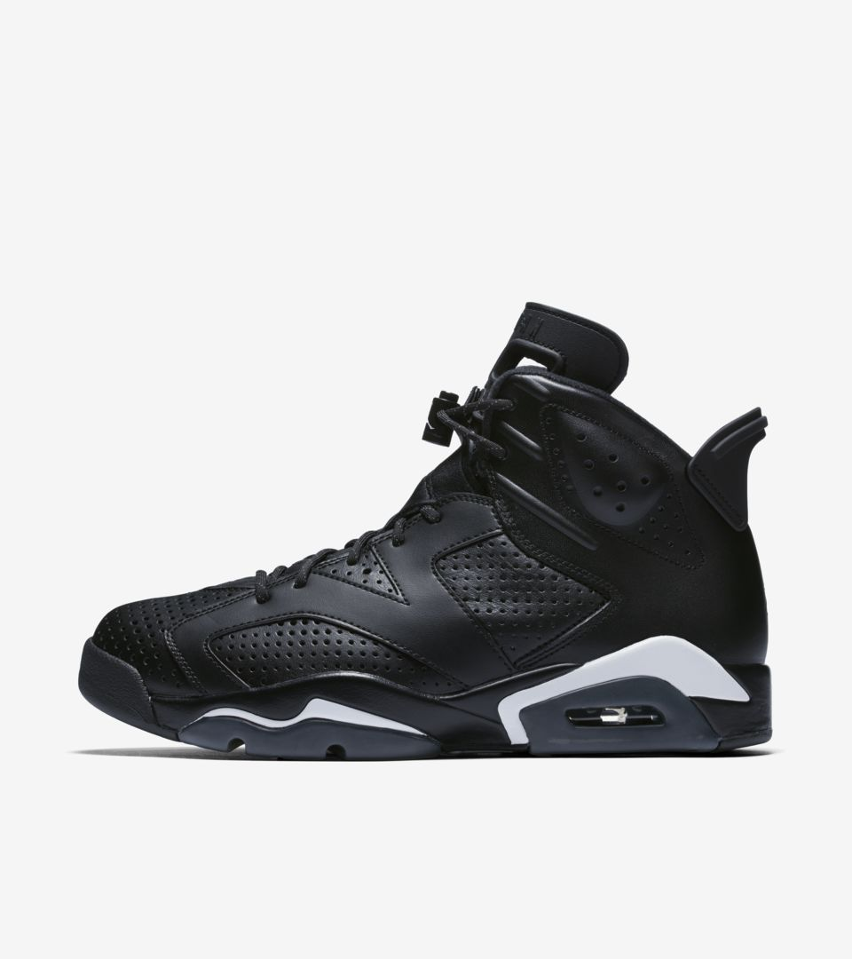new arrivals 51066 4b1e0 BLACK. AIR JORDAN VI
