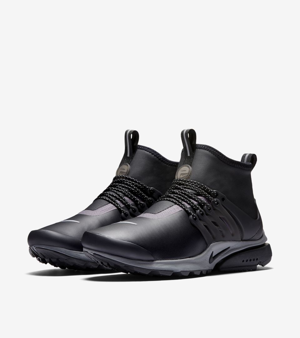 f6446220c Women's Nike Air Presto Mid Utility SneakerBoot 'Black & Reflect ...