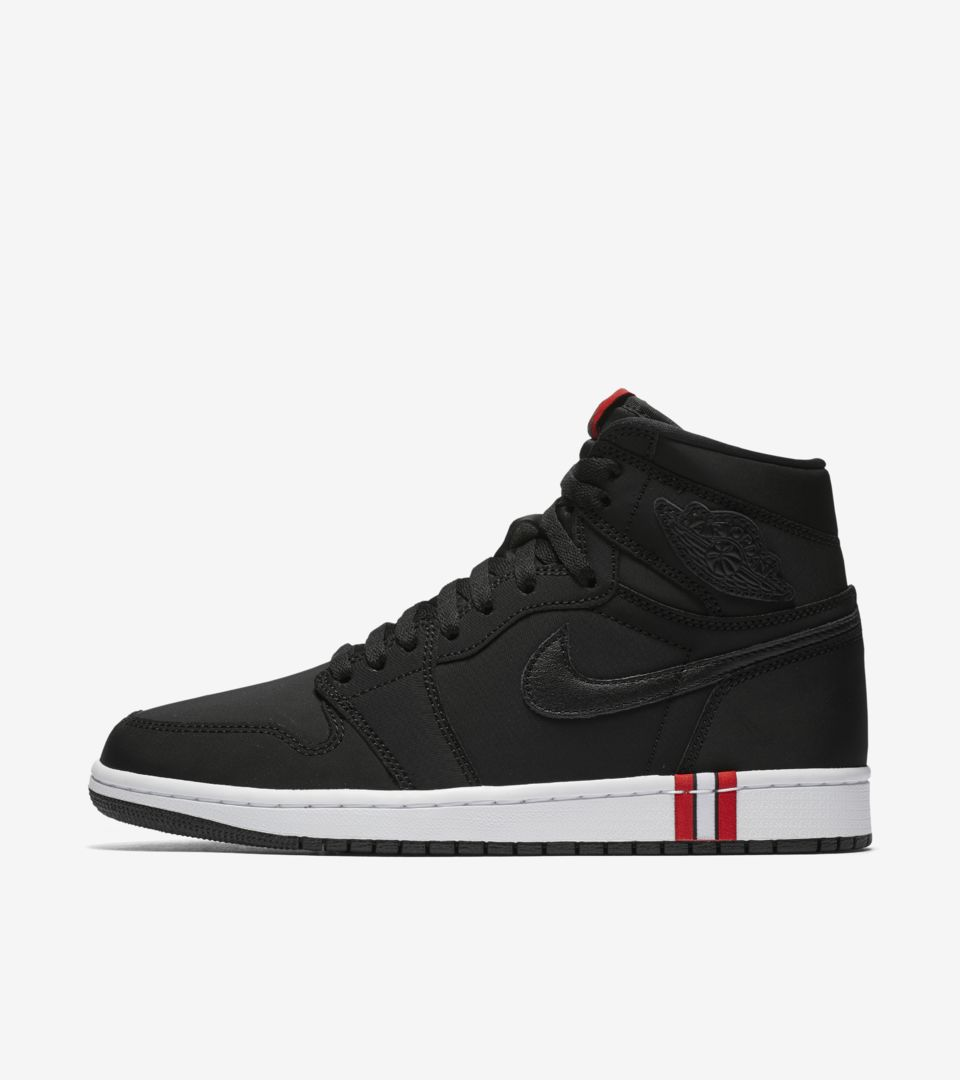 100% authentic bb3d5 ddff5 Air Jordan 1 PSG 'Black & Challenge Red' Release Date. Nike ...