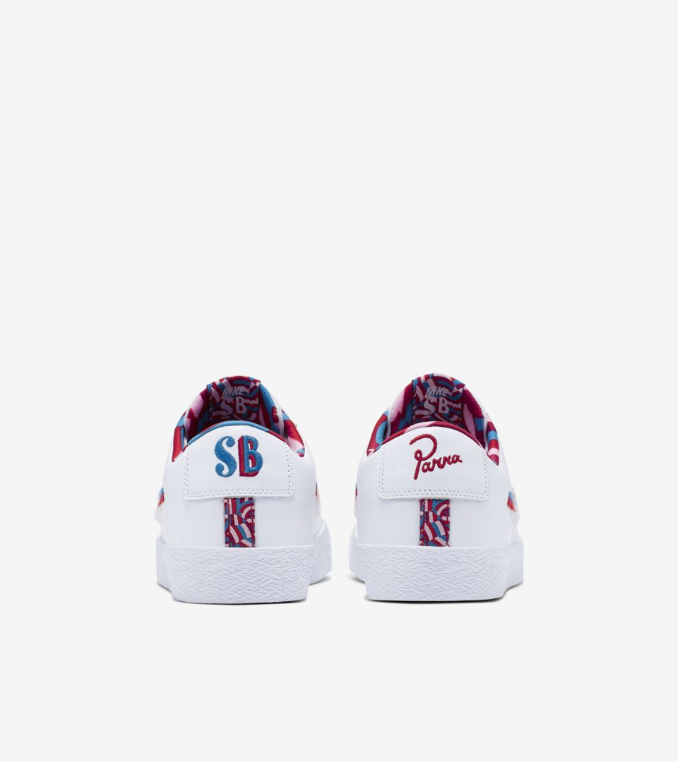 SB Blazer Low 'Parra' Release Date. Nike+ SNKRS