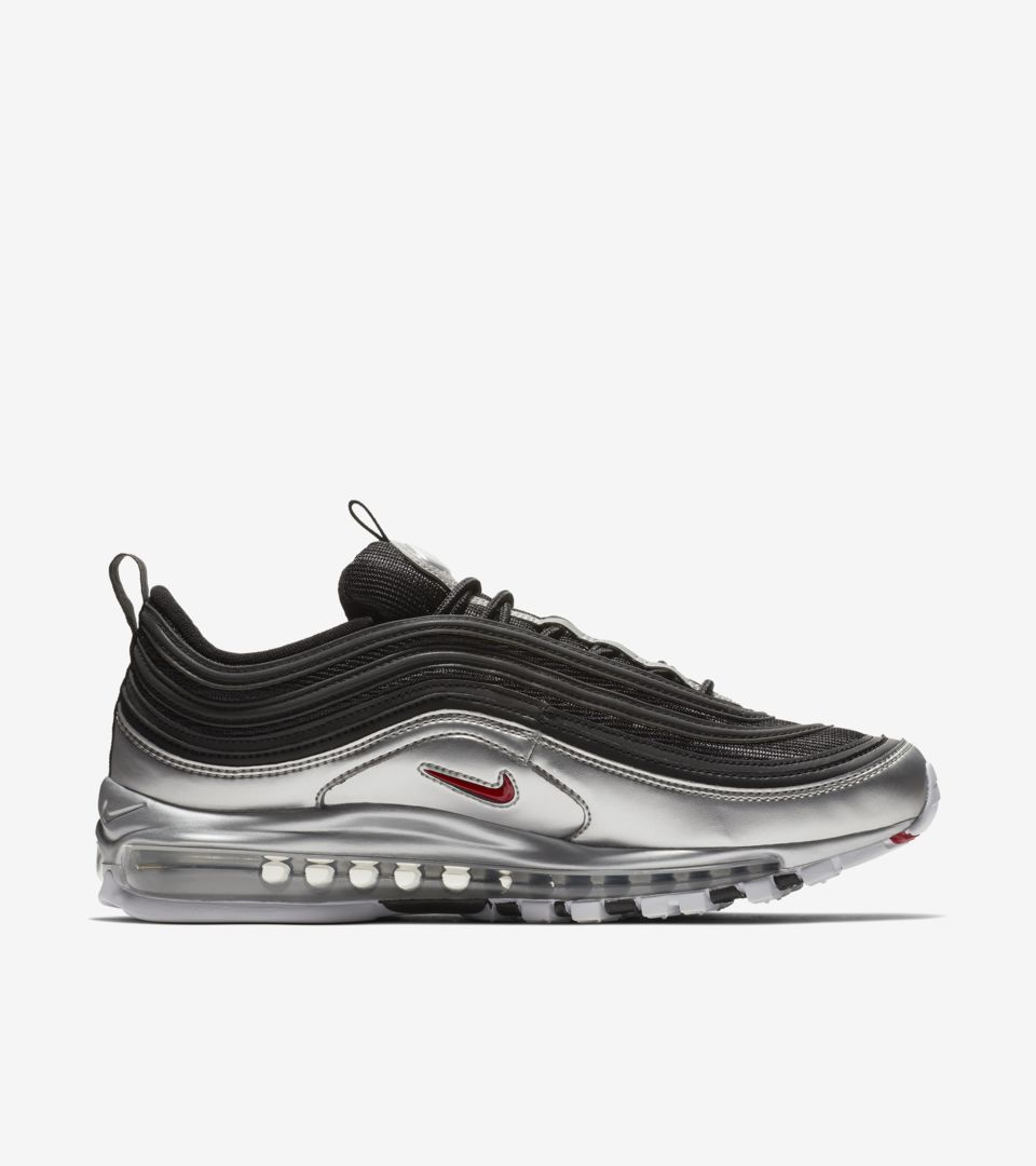 Nike Air Max 97 'Metallic Silver & Black' Release Date