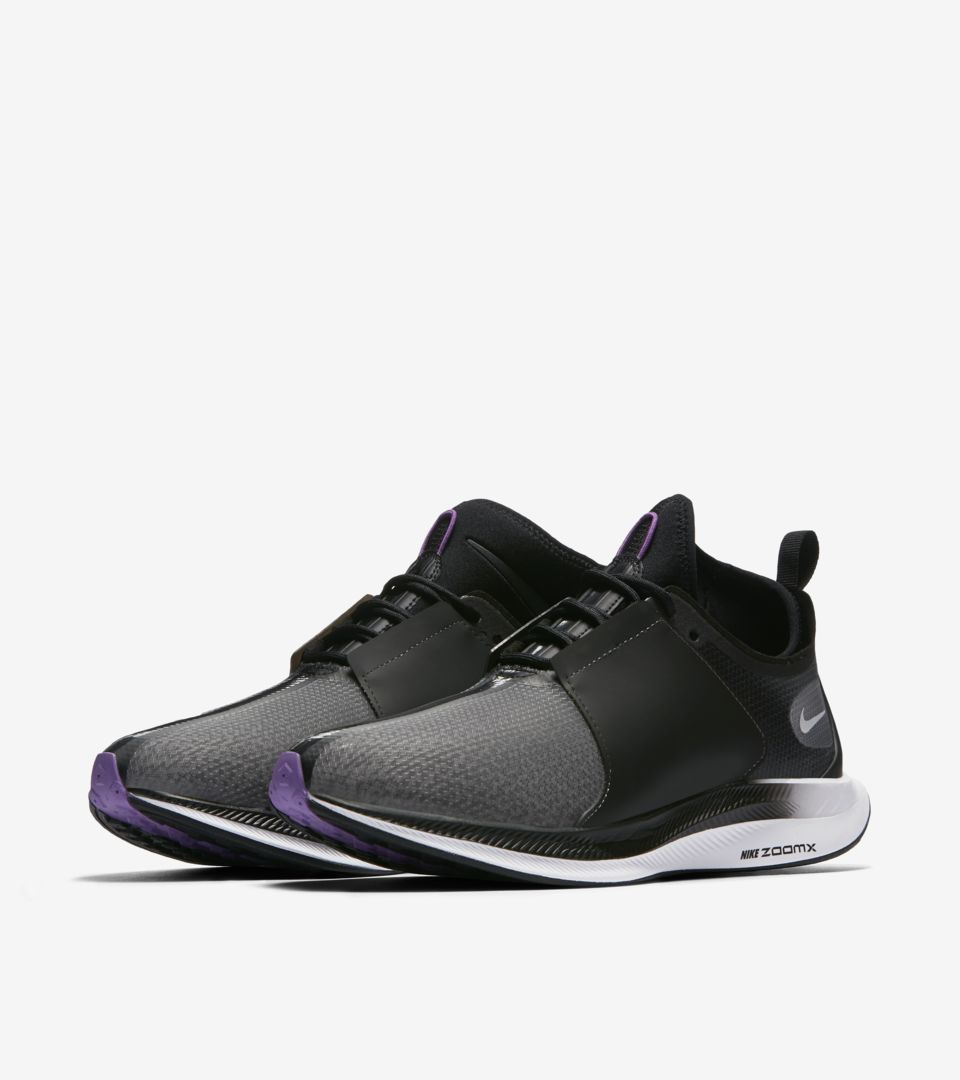 sneakers for cheap af084 4f761 Women's Nike Zoom Pegasus Turbo XX 'Black & Bright Violet ...