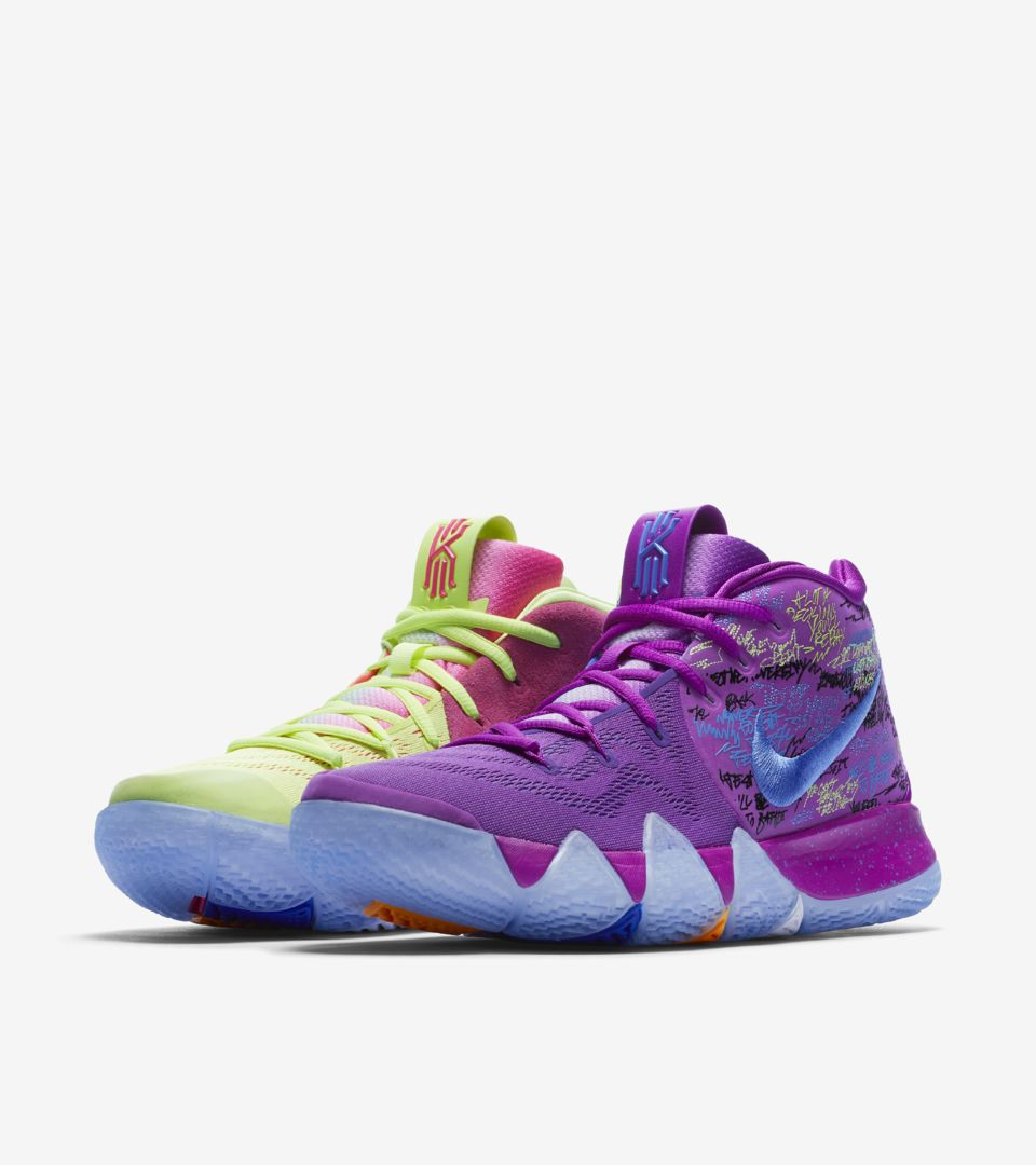 new styles 9a25d 0fcc0 Nike Kyrie 4  Confetti  Release Date. Nike⁠+ SNKRS