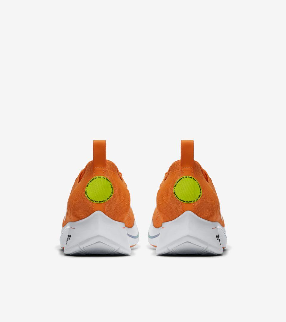 Nike Zoom Fly Mercurial Flyknit Off-White  Total Orange  amp  Volt ... 4be6e0bb0