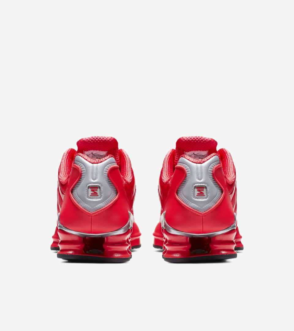 773c5a7b527 Nike Shox TL  Speed Red and Metallic Silver  Release Date. Nike+ ...