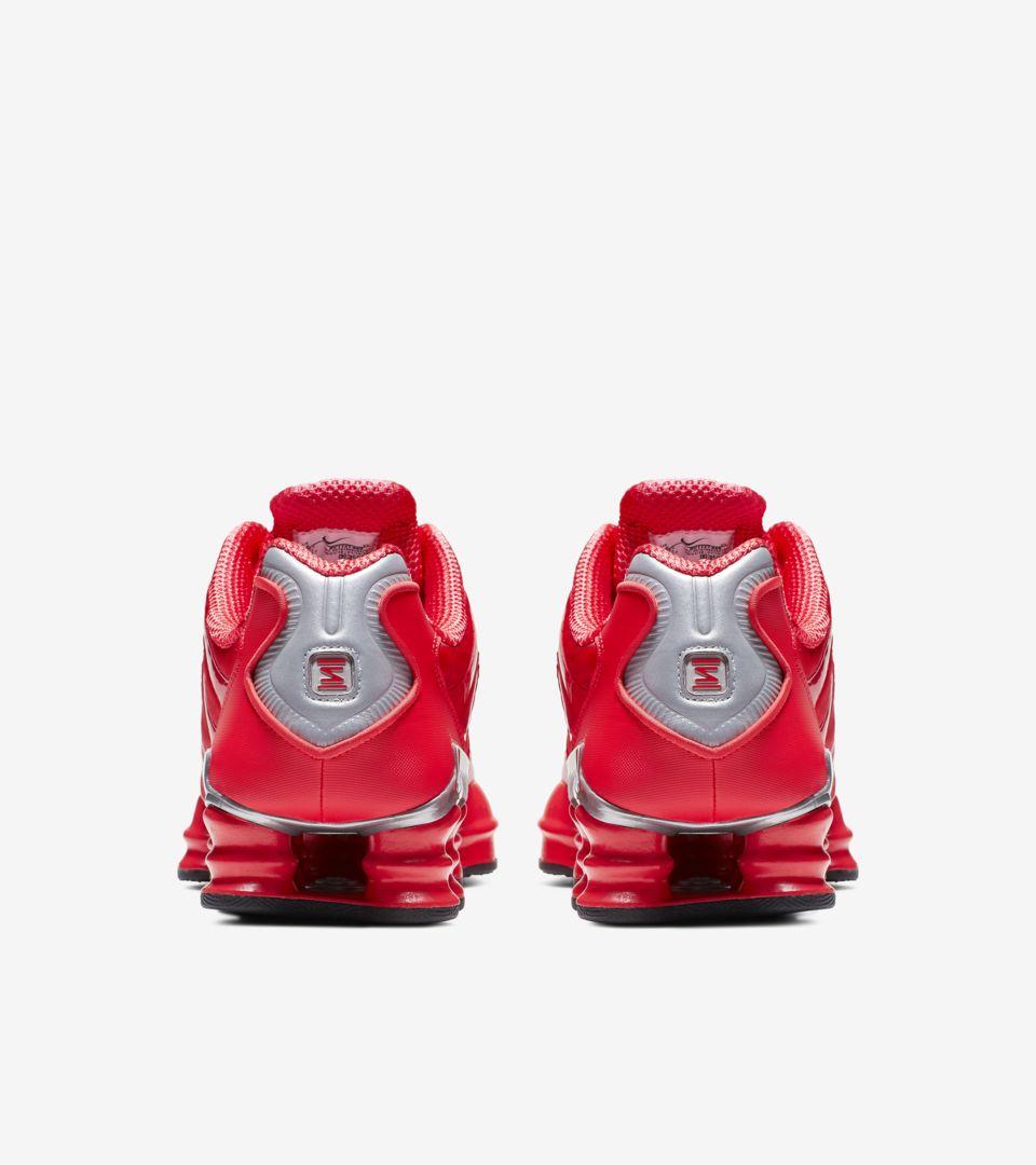Nike Shox TL 'Speed Red & Metallic Silver' Release Date