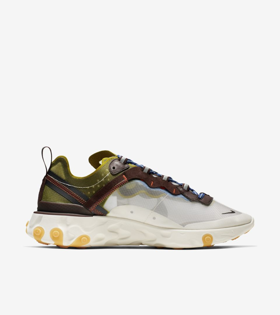 Nike React Element 87 'Moss' Release Date. Nike⁠+ SNKRS