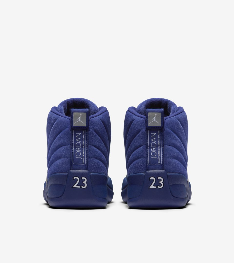 Air Jordan 12 Retro  Deep Royal Blue . Release Date. Nike⁠+ SNKRS bb02e4160