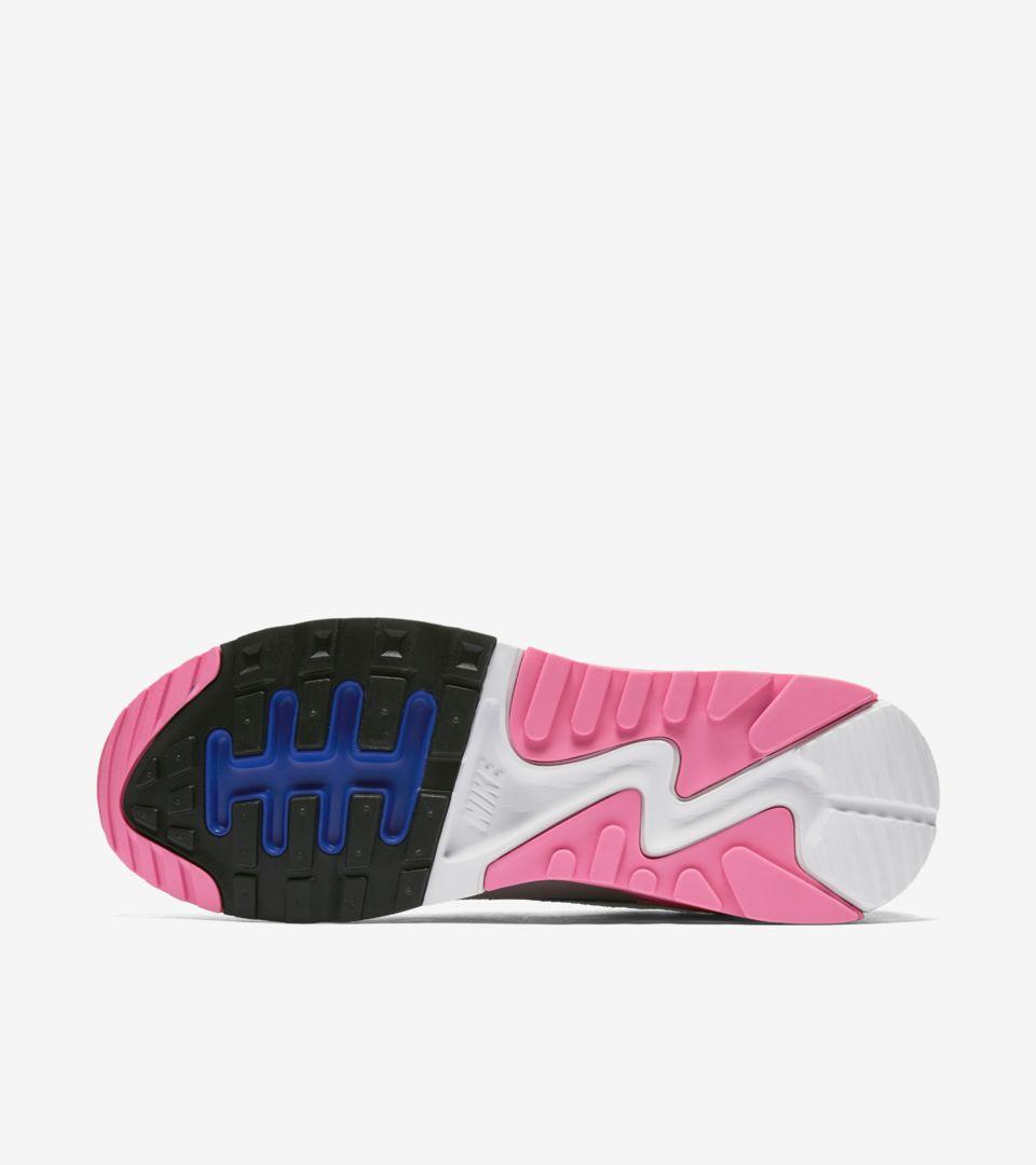 baaa84b6da48 Women s Nike Air Max 90 Ultra 2.0 Flyknit  White   Laser Pink . Nike ...