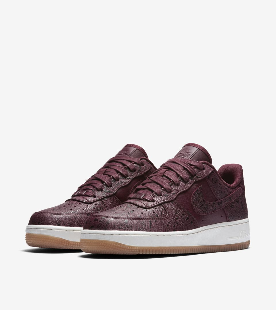 Women's Nike Air Force 1 'Night Maroon & Sail'. Release Date