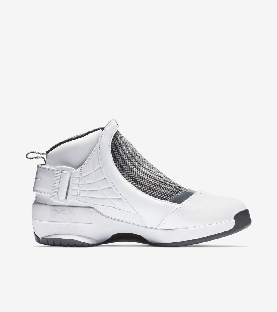Air Jordan 19 'Flint Grey & White & Chrome' Release Date