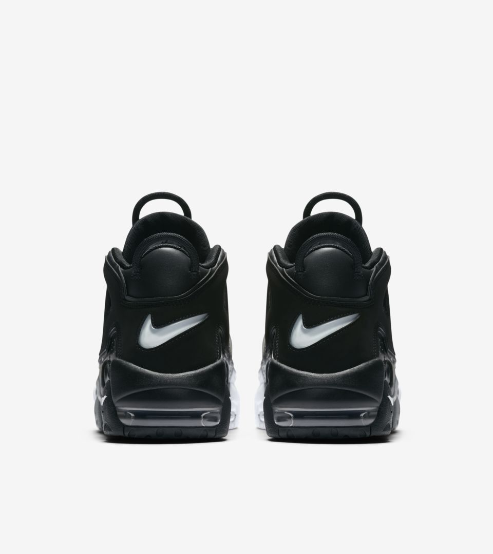 66432e2acc Nike Air More Uptempo '96 'Black & White & Cool Grey'. Nike⁠+ SNKRS