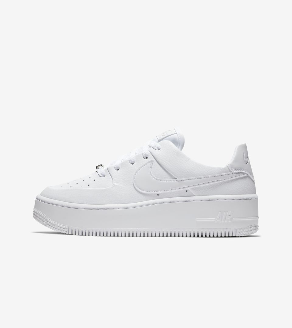 3a85c5ba8b4b Nike Women s Air Force 1 Sage Low  White  Release Date. Nike⁠+ SNKRS