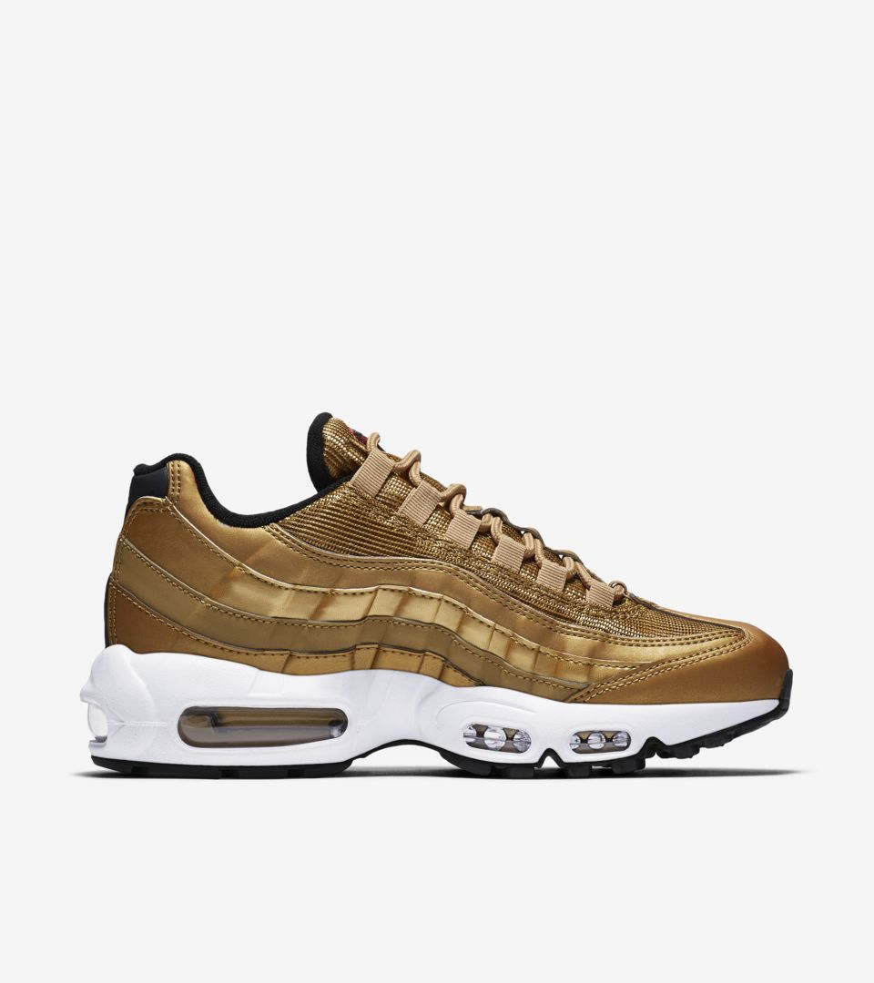 Women's Nike Air Max 95 'Metallic Gold' Release Date. Nike