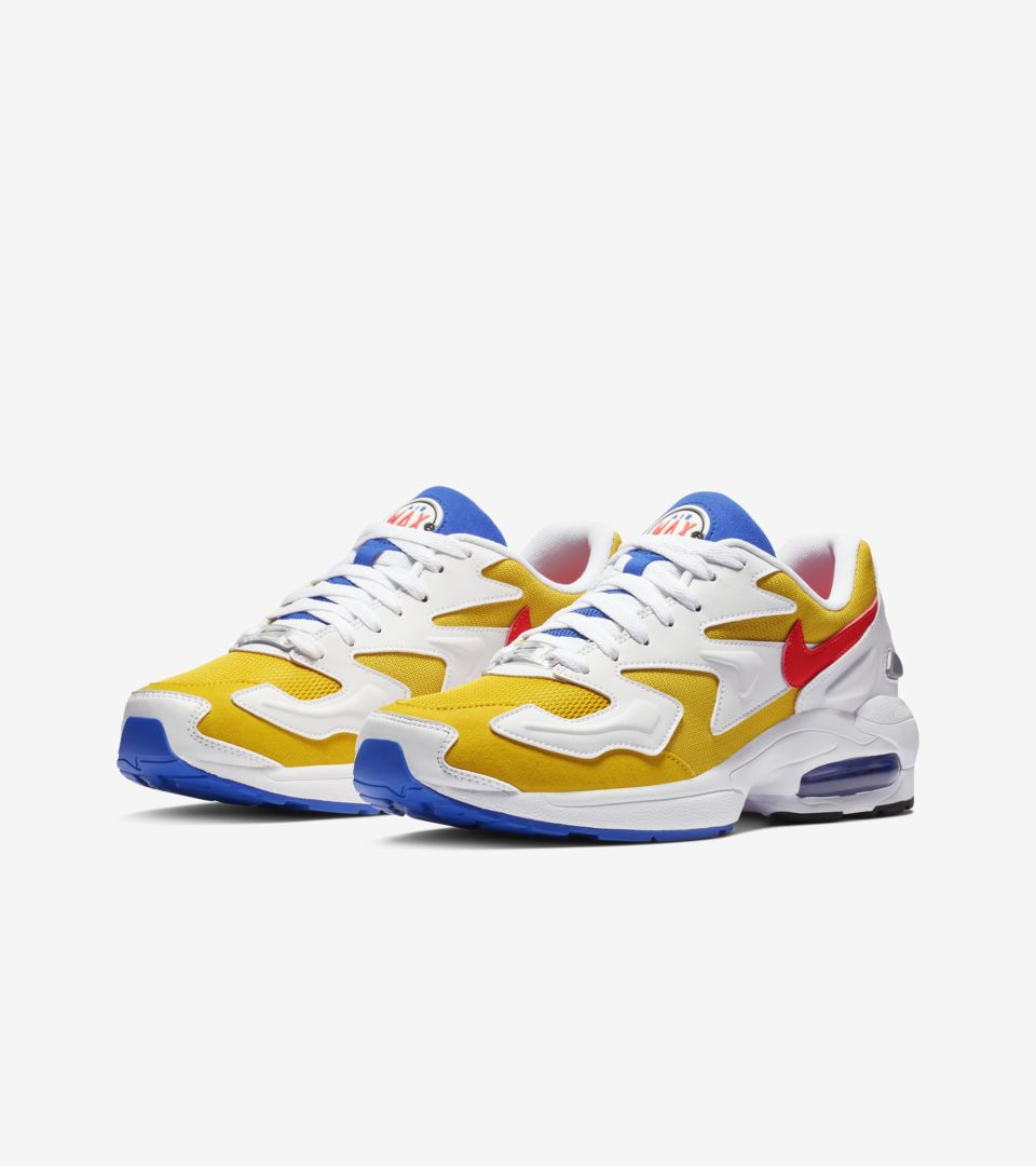19693b7269 ... Nike Air Max2 Light 'University Gold & Racer Blue & Flash Crimson'  Release Date
