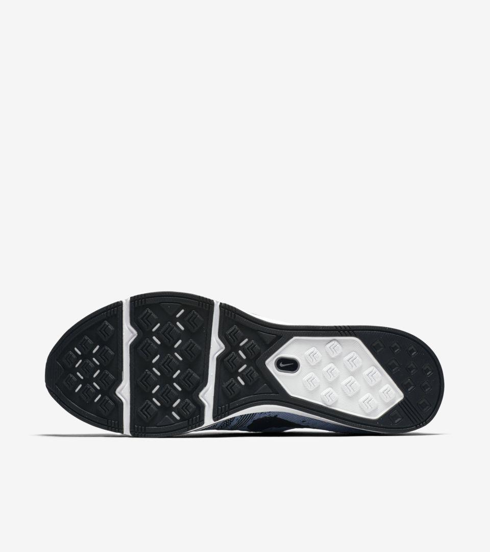 c3cb826b5d823 Nike Flyknit Trainer  Cirrus Blue   Black  Release Date. Nike+ SNKRS